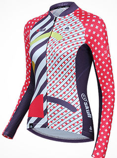 Dual - Women's Long Sleeved Cycle Jersey