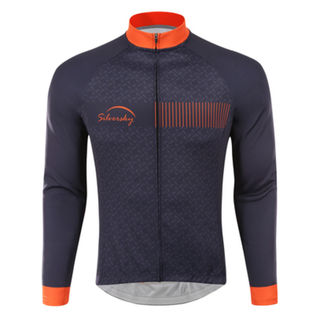 Midnight Express - - Thermal Long Sleeve Cycle Jersey
