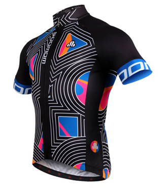 3D - Mens Short Sleeve Cycle Jersey