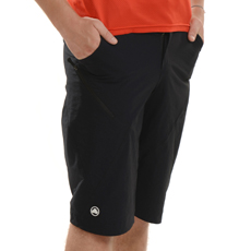 Mecca - Slim Fit Baggy Cycle Shorts (Black)