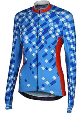 Sophia - Thermal Long Sleeve Cycle Jersey