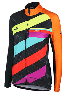 Sunflower - Thermal Long Sleeve Cycle Jersey