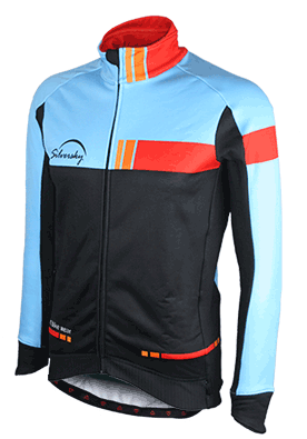 Fast Eddie - Winter Long Sleeve Cycle Jacket