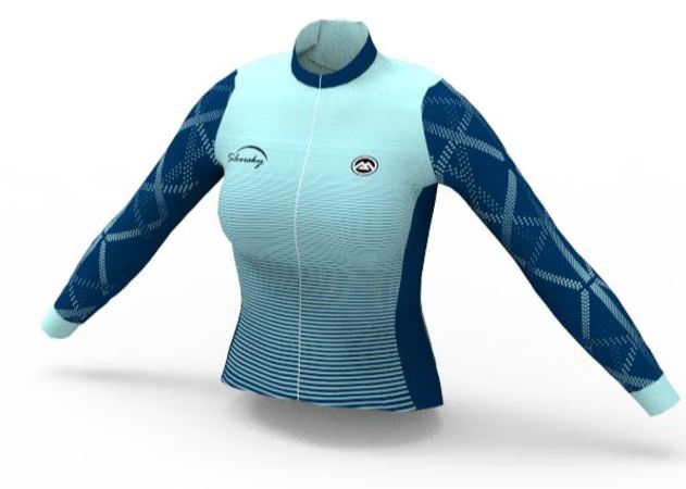 Sapphire - Women's Long Sleeve Cycle Jersey