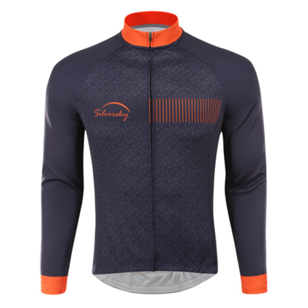 Midnight Express - Thermal Long Sleeve Cycle Jersey